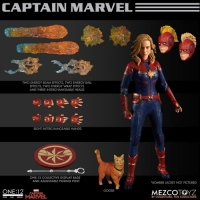 Фигурки Марвел - Фигурка Капитан Марвел (One:12 Collective Figure Captain Marvel)